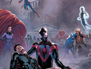 Iron Man and Spider-Man in Marvel's Civil War II