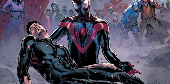 Iron Man and Spider-Man in Marvel's Civil War II