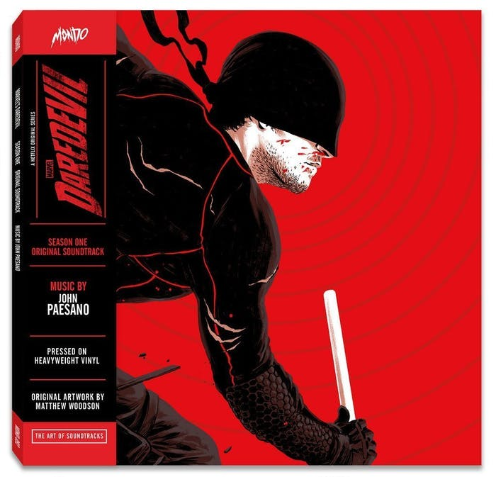 Mondo Vinyl for Daredevil Soundtrack
