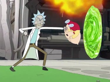 Watch This Fan-Made 'Family Guy' and 'Rick and Morty' Crossover