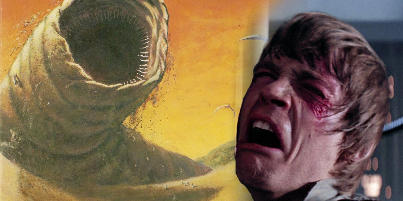 'Dune' Sandworm versus 'Star Wars' Jedi