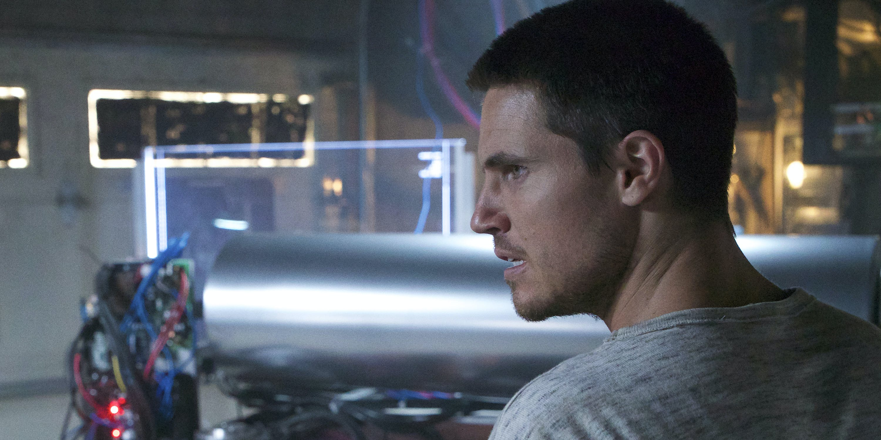 Robbie Amell's Murderous, Techno-Groundhog Day