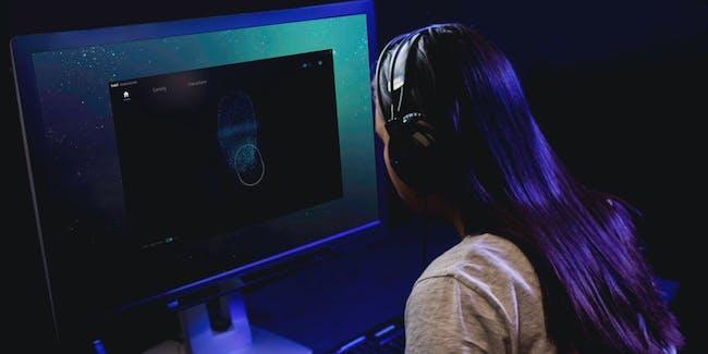 Tobii eye tracking test visualisation recording