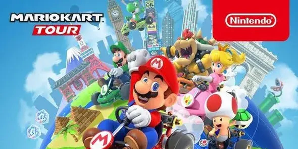 Mario Kart Tour multiplayer release date