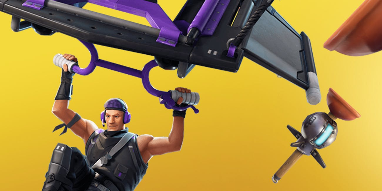 'Fortnite' finally gets a sticky grenade with the Clinger Grenade.
