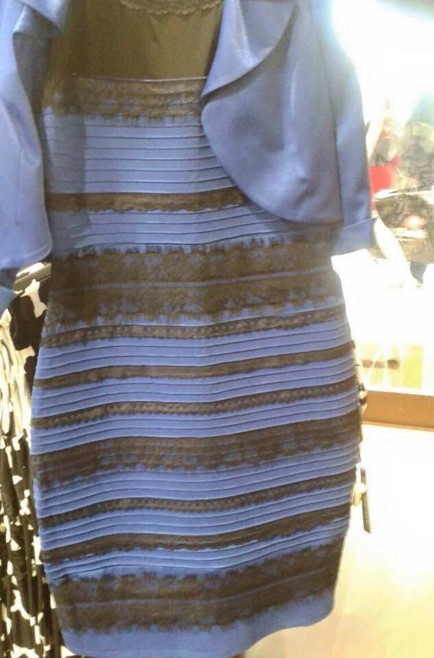 This dress took over Twitter and other social media with a debate about its colors.