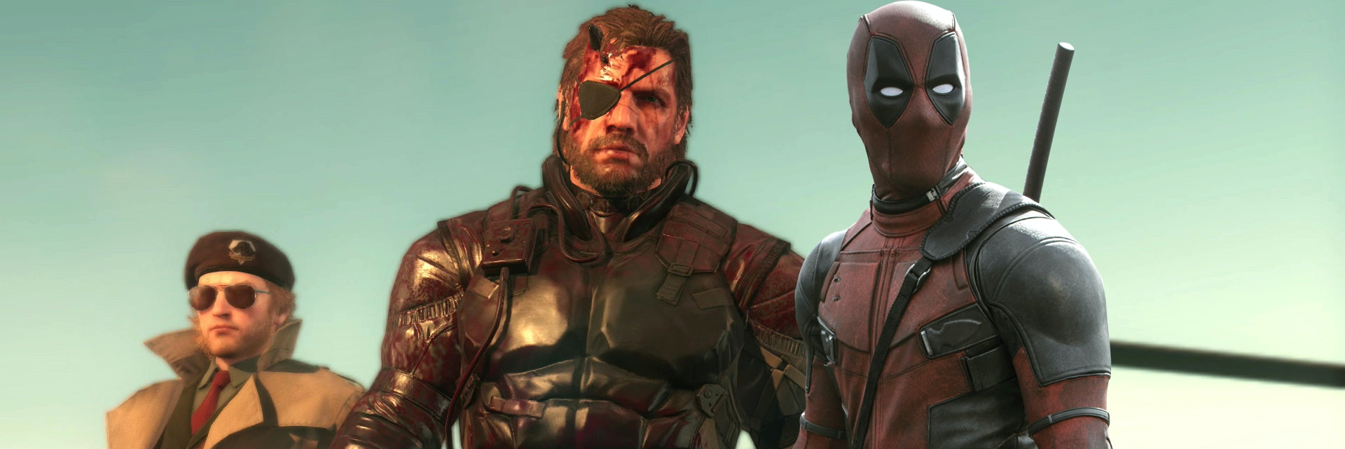 Deadpool Metal Gear Solid