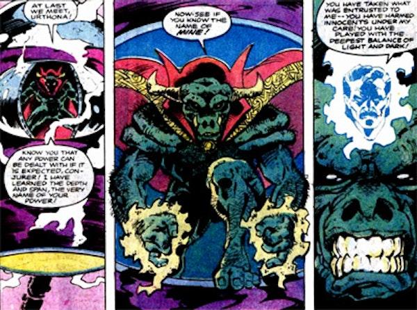 Doctor Strange in Rintrah's body