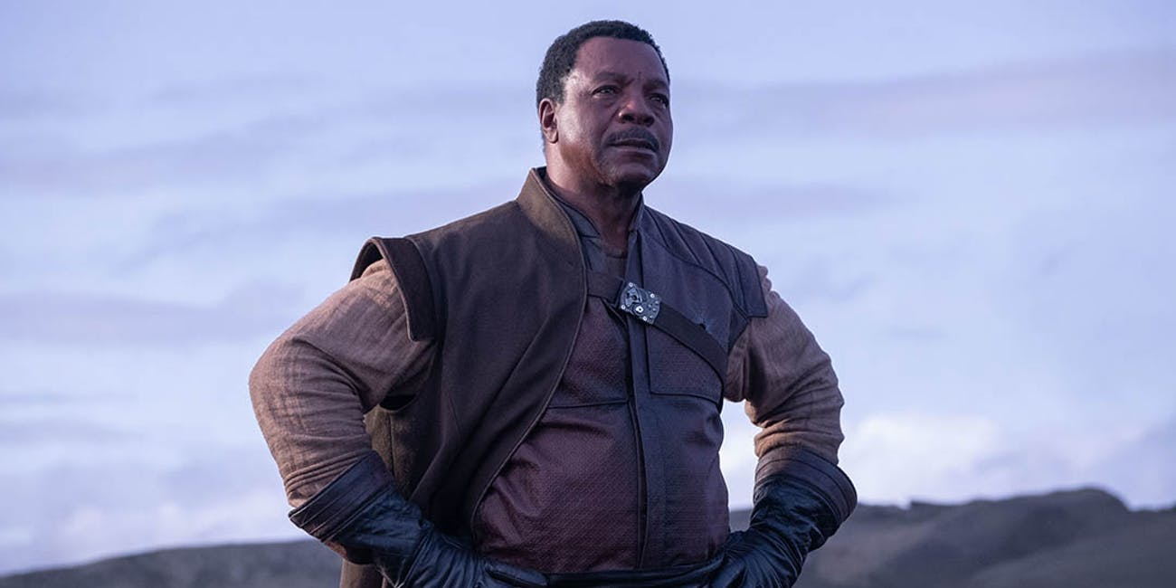 Carl Weathers as Greef Carga in 'The Mandalorian.'