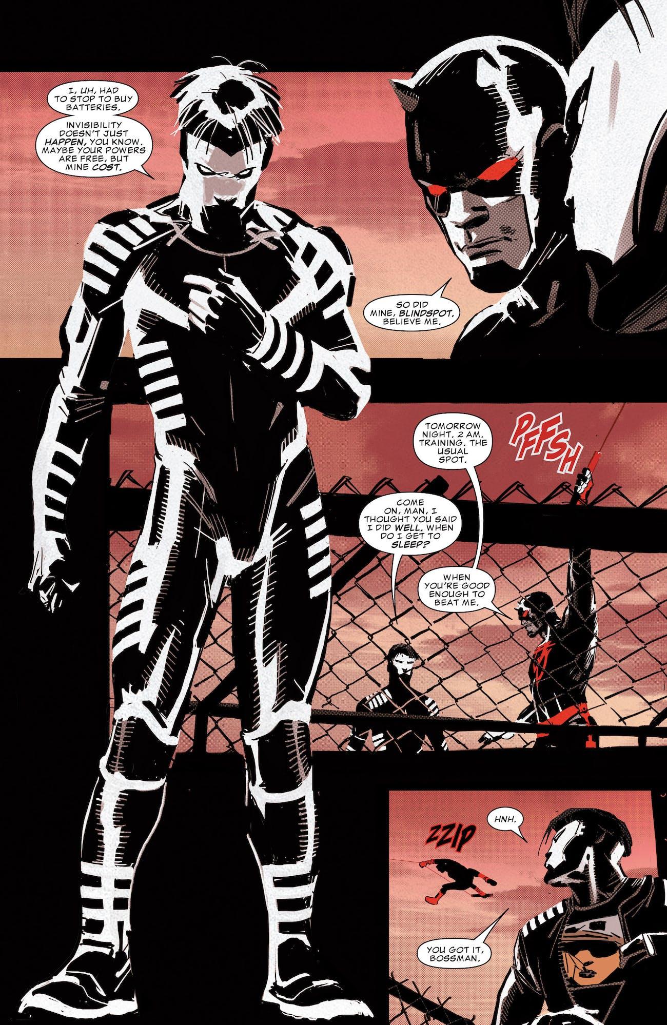 Daredevil 1 Blindspot Iron Fist