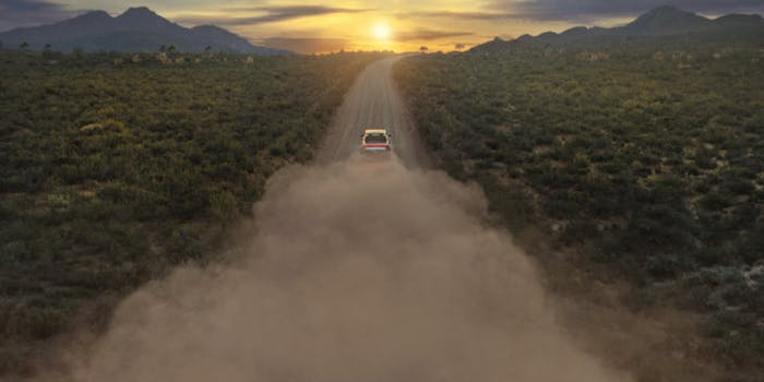 Rivian Pickup Truck Teaser Image