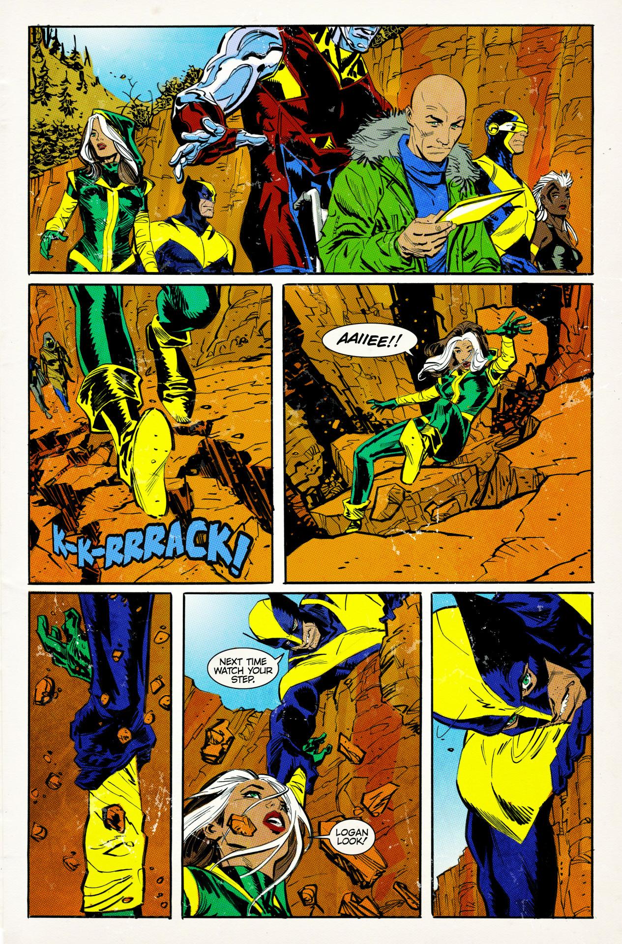 "Fake ""X-Men"" comics from 'Logan'"