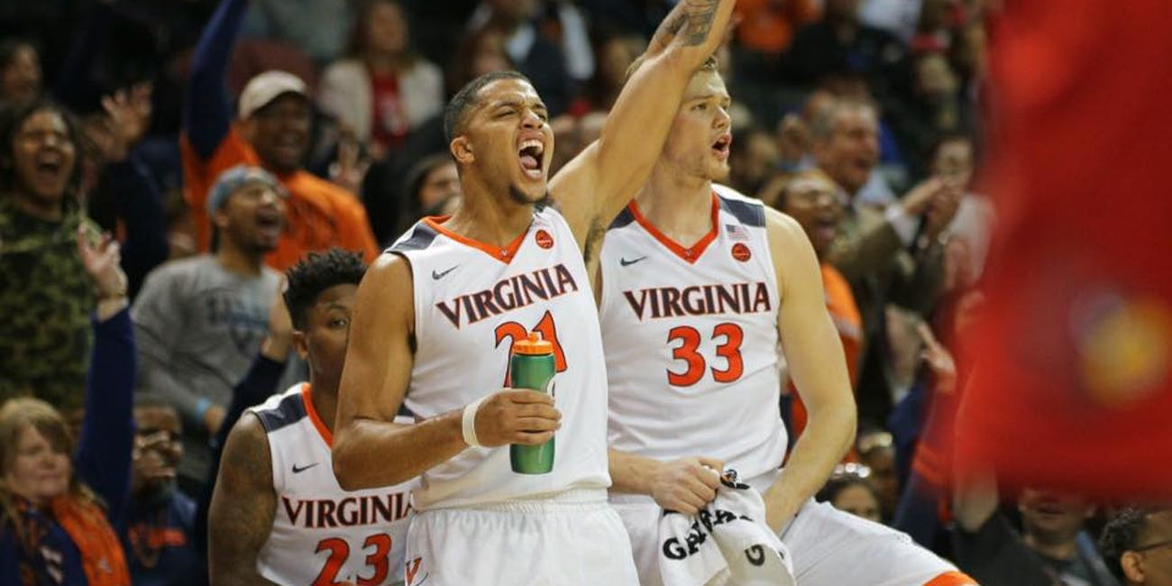 The Virginia Cavaliers a favorite for the 2018 NCAA Tournament.