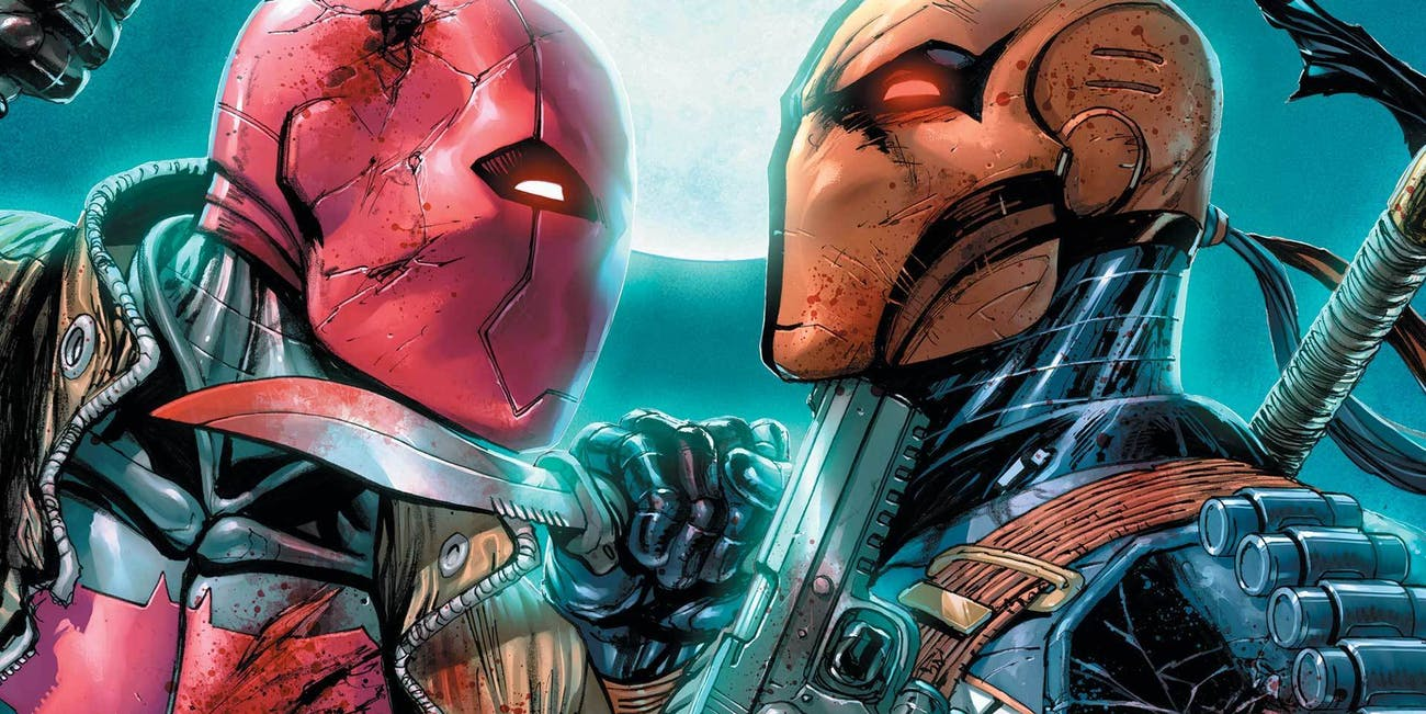 Ben Affleck Red Hood Deathstroke