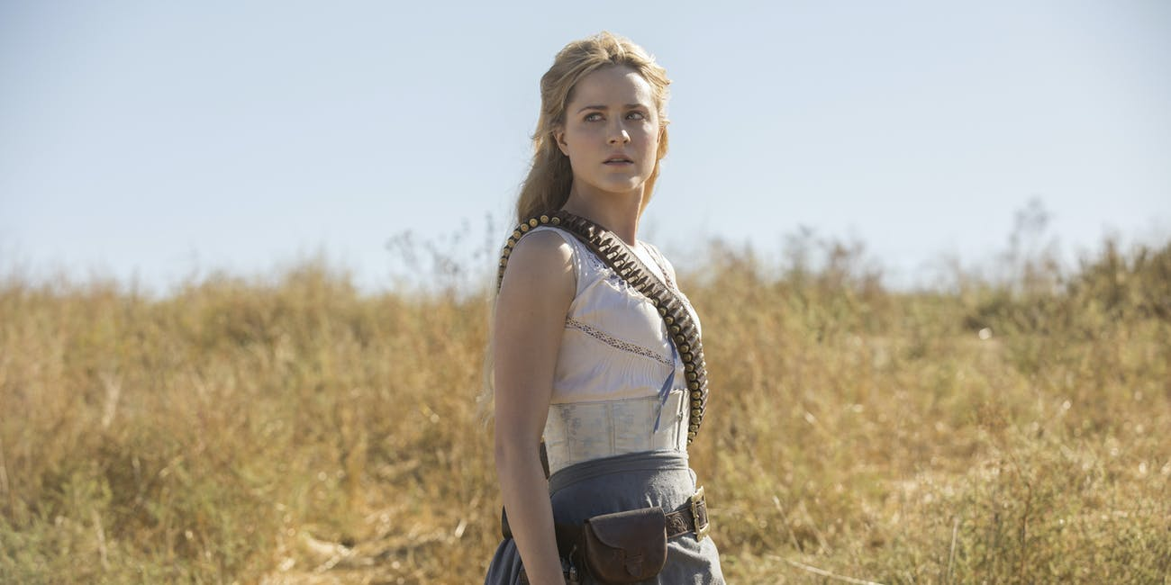 Dolores is some kind of revolutionary leader in 'Westworld' Season 2.