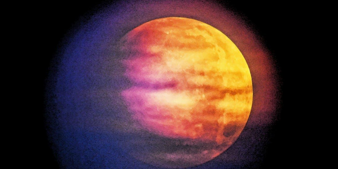 Lunar Eclipse as Art