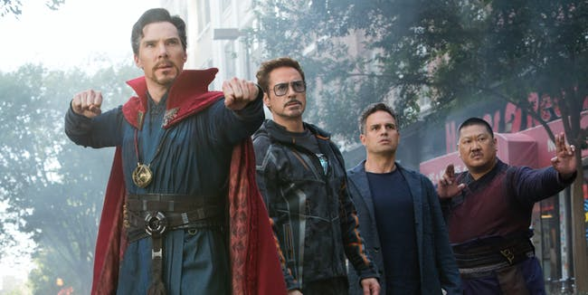 Doctor Strange and Wong in 'Infinity War'