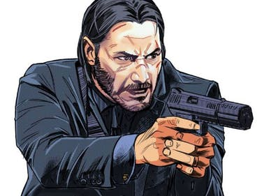 John Wick Will Out-Assassin Deadshot in New Dynamite Comic