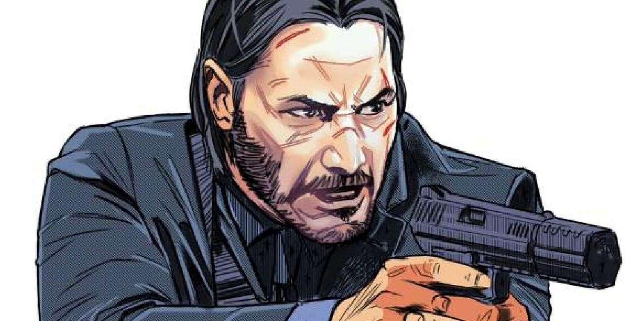John Wick Comic Book