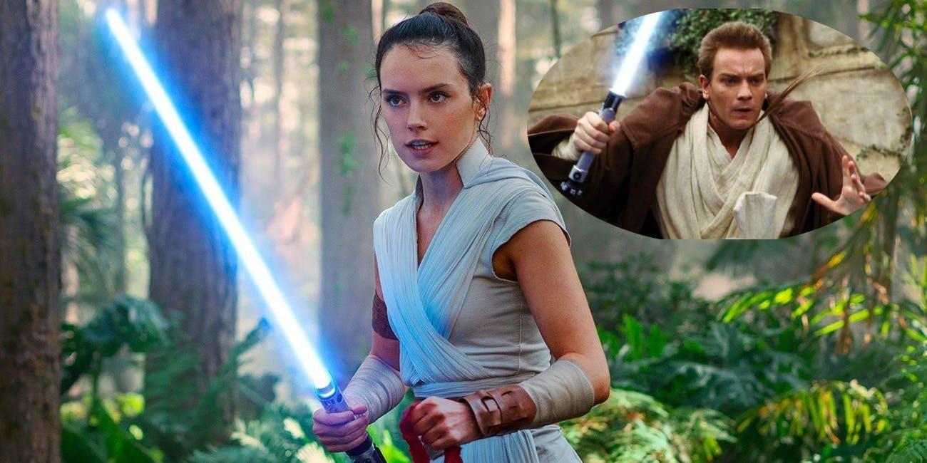 Rey in 'Episode IX.' Obi-Wan in 'Episode I.'
