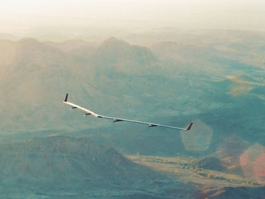 Facebook's Internet Drone, Aquila, Had a Secret Accident