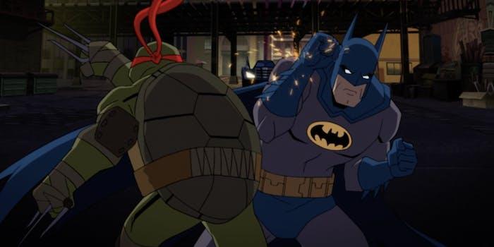 Image result for batman vs teenage mutant ninja turtles