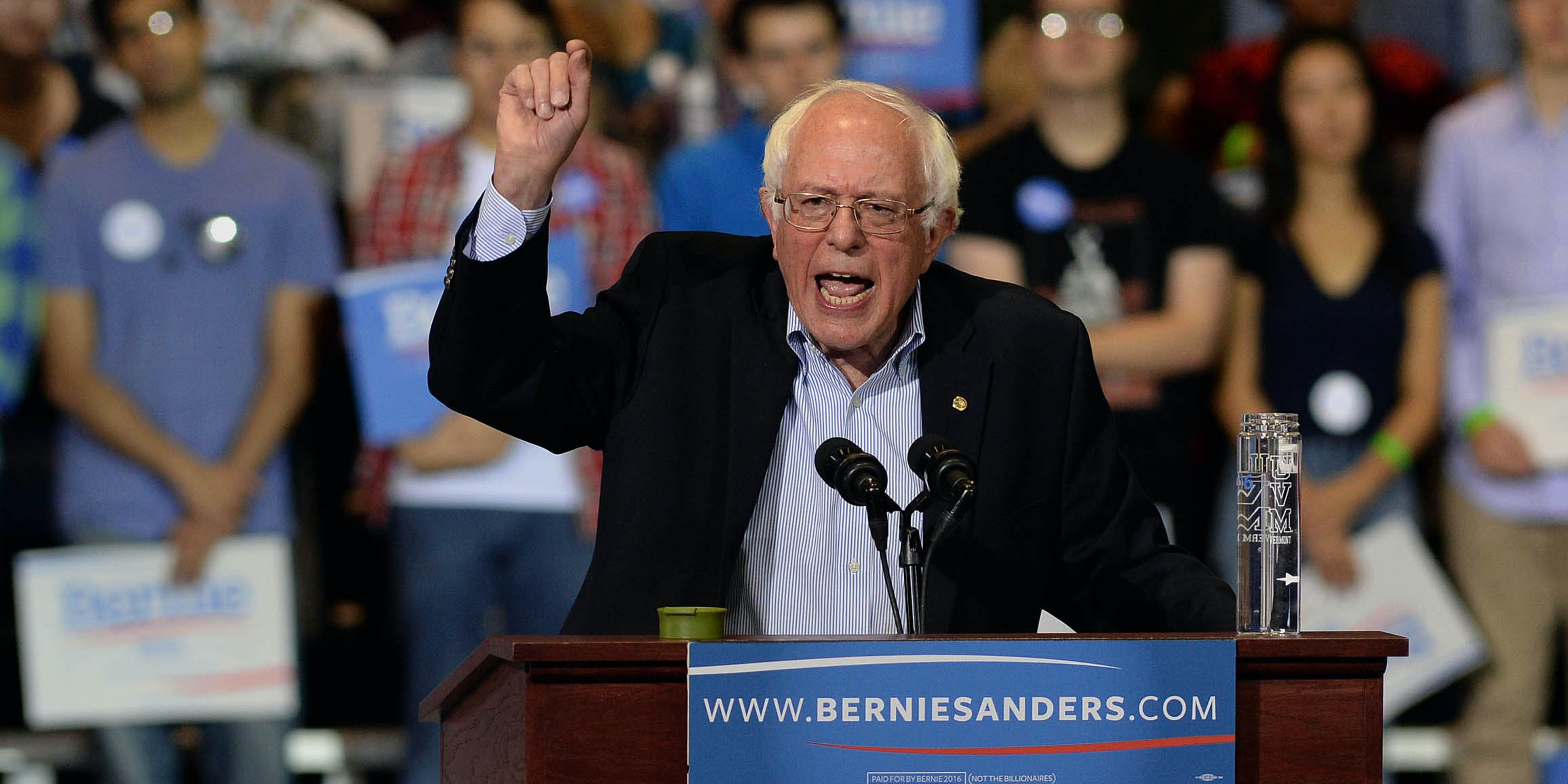 Bernie Sanders Becomes First Senator to Officially Propose Federal Marijuana Decriminalization