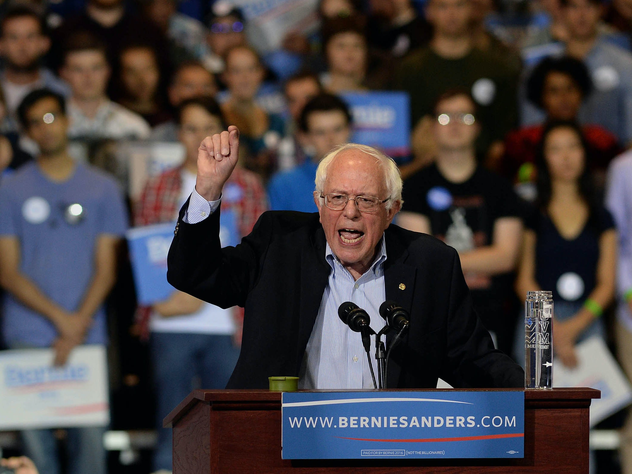 Bernie Sanders Becomes First Senator to Officially Propose Federal Marijuana Decriminalization