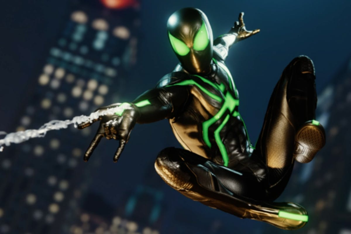 """'Spider-Man' PS4 Stealth """"Big Time"""" Suit"""