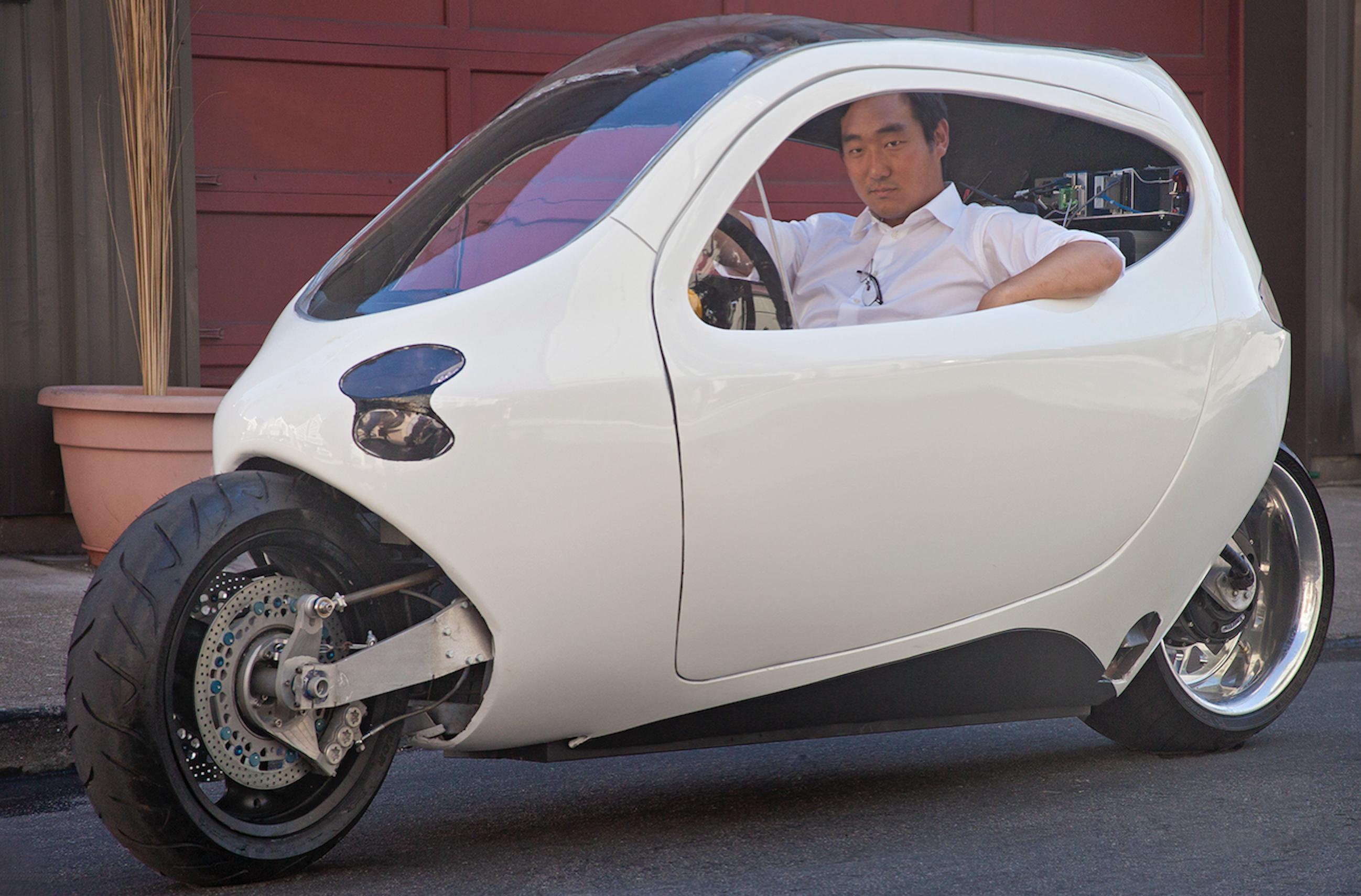 Lit Motors Self-Balancing Motorcyle