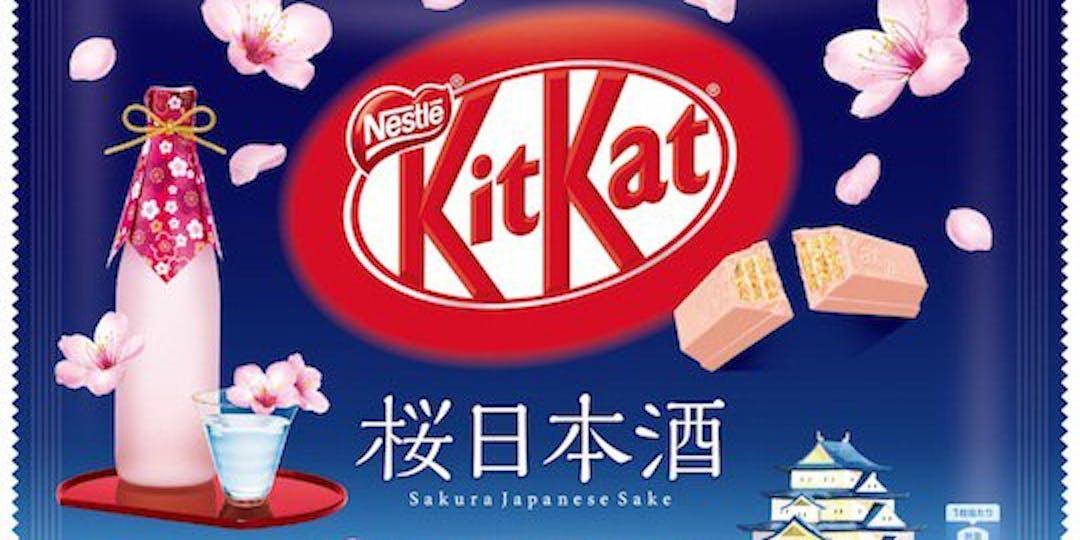 Kit Kat Mini Sakura Japanese Sake