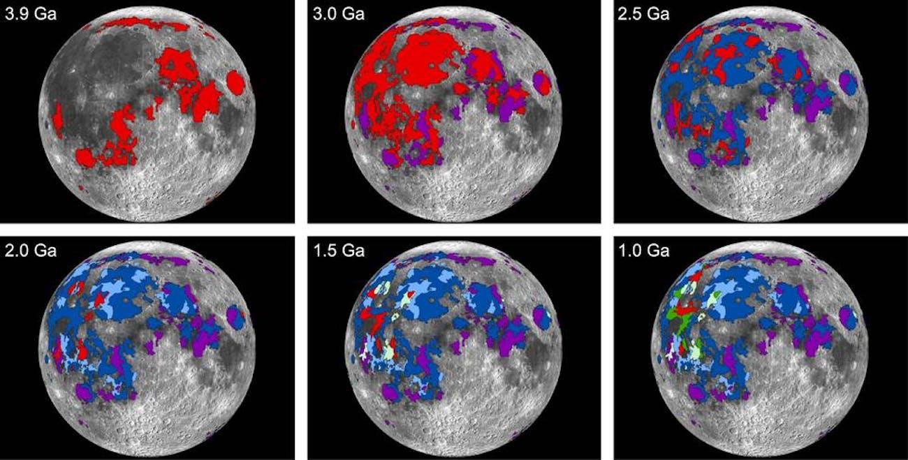Moon Volcanoes Lunar Volcanic Activity