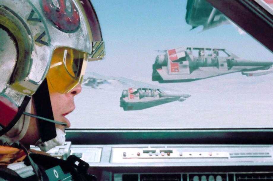 Luke commands Rogue Squadron in 'The Empire Strikes Back'