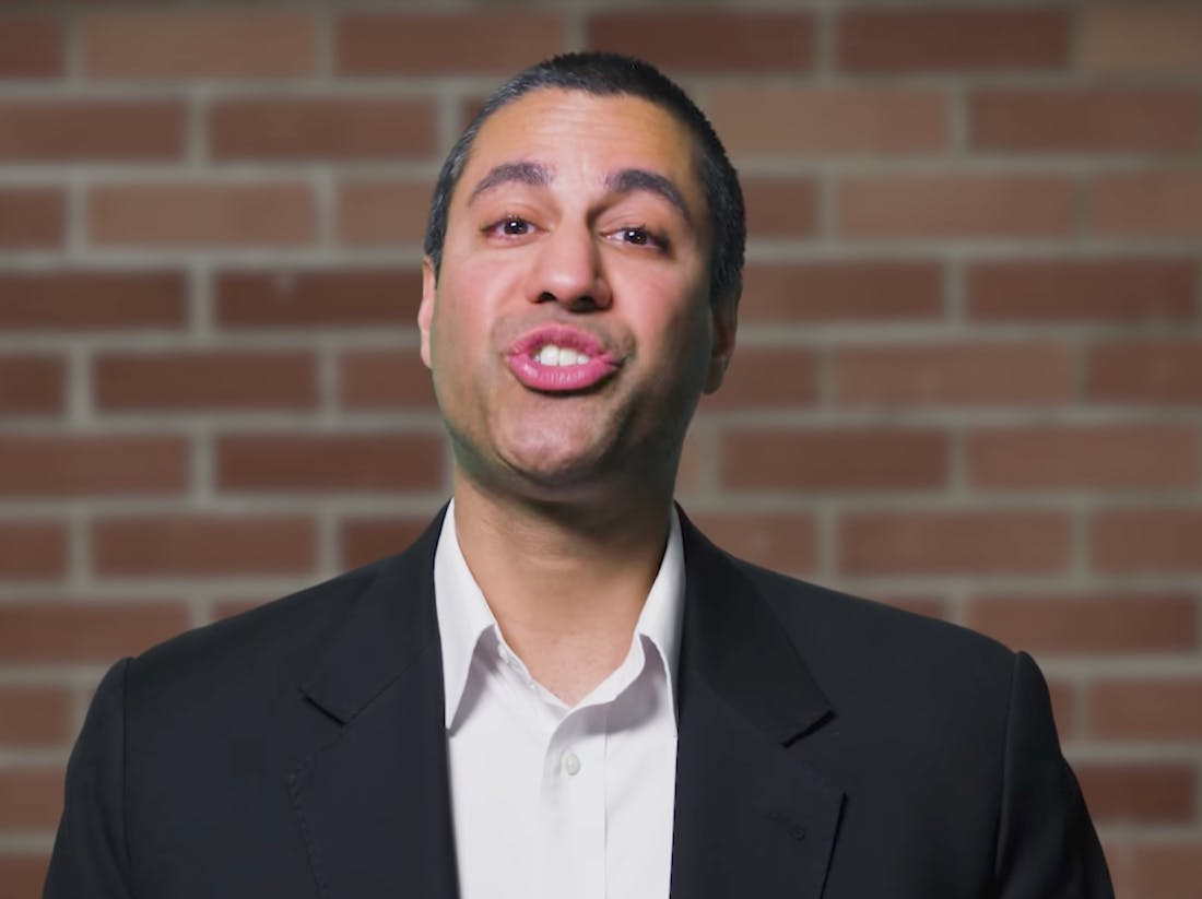 Ajit Pai, the dorky chairman of the FCC