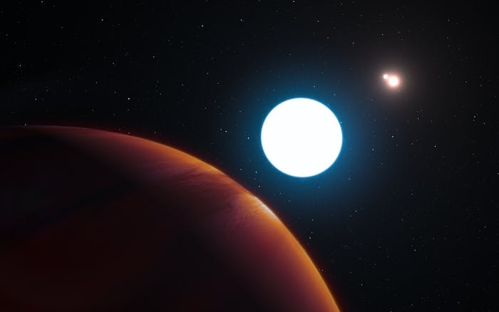 HD 131399Ab has three suns, one-uping Tatooine.