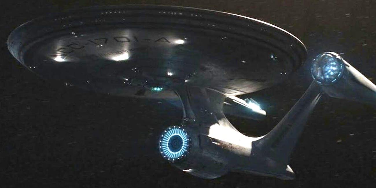 Enterprise A from Beyond