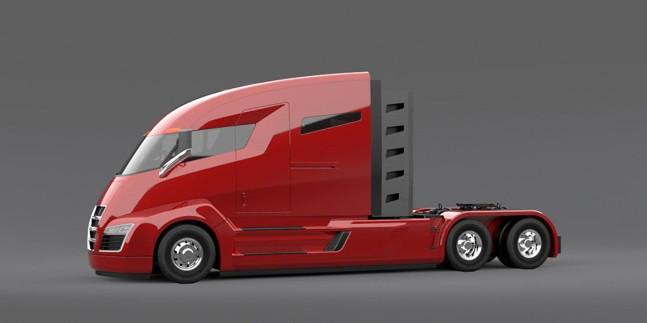 Tesla S New Electric Semi Will Be Very Bad Says Truck Rival