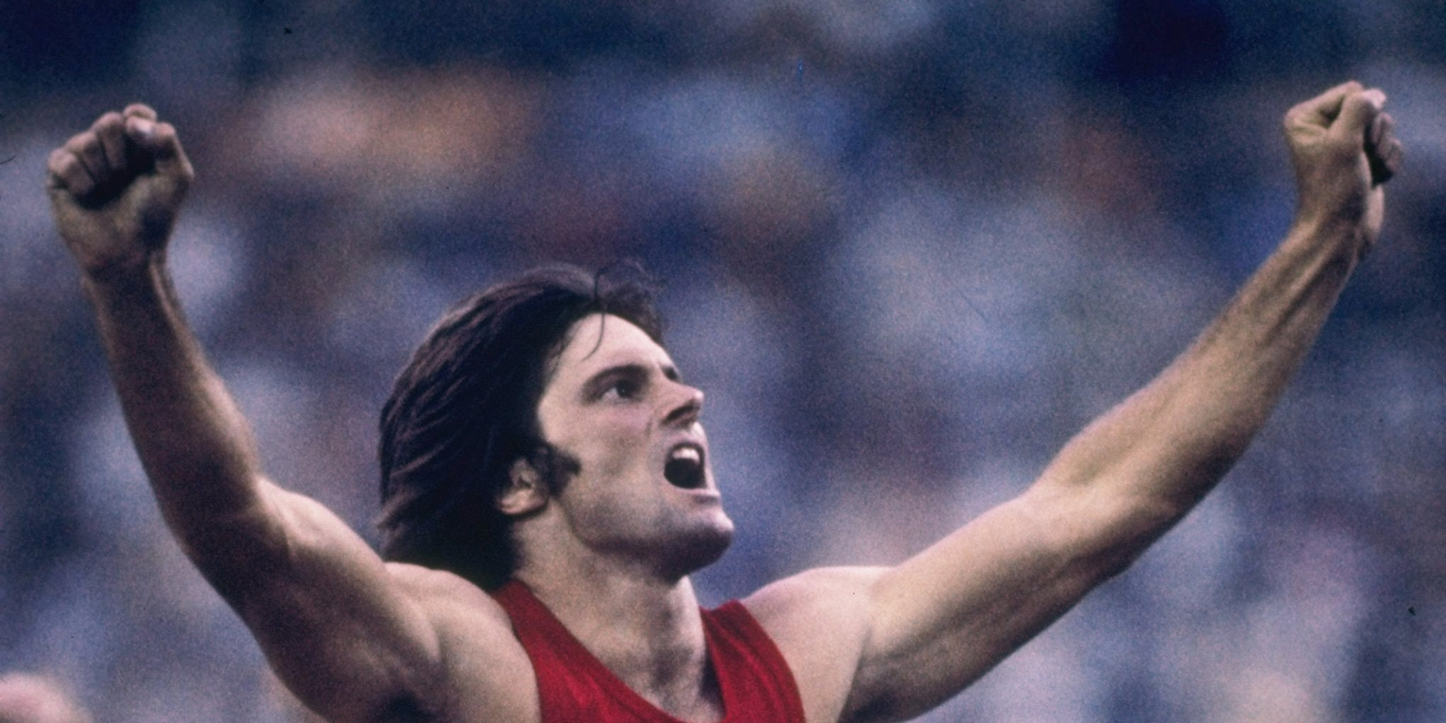 In 1976, Caitlyn Jenner, previously known as Bruce, set the Olympic record for the decathlon. In 2015 she publicly announced she was a transgender woman.
