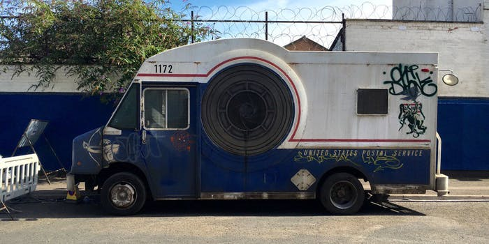 Postal Truck Ready Player One