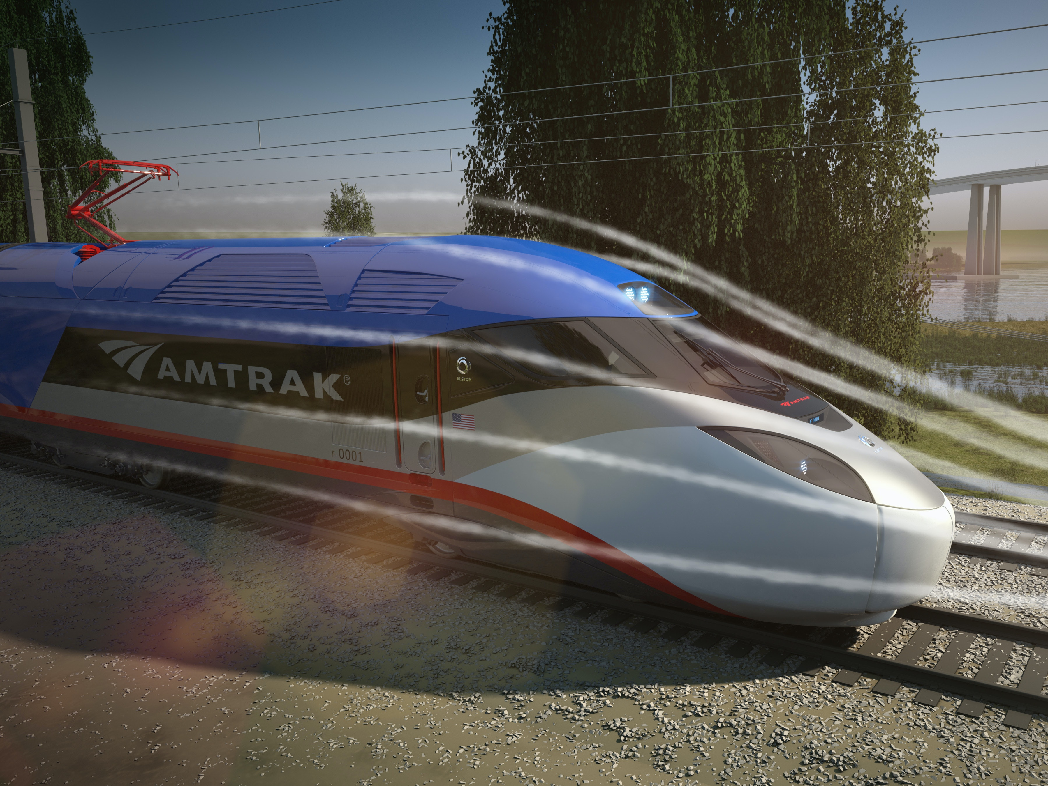 Amtrak Will Roll Out High-Tech Trains by 2021