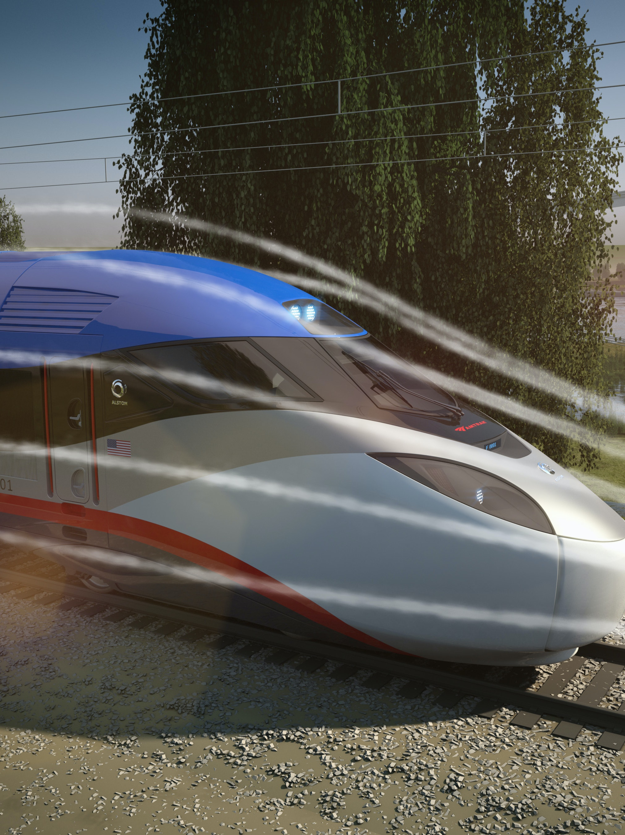 New Amtrak trains will travel at up to