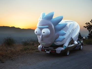 A 'Rick and Morty' Rickmobile Might Be Driving to Your Town Soon