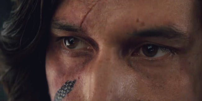Rey's probably not talking to Kylo here, but that's not the only bit of misdirection,