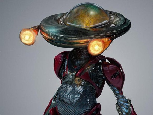 New Alpha 5 Design in 'Power Rangers' Is a Biomechanical Freak Show