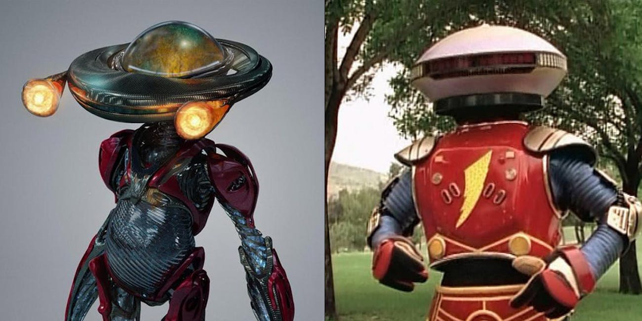 New Alpha 5 Design In Power Rangers Is A Biomechanical
