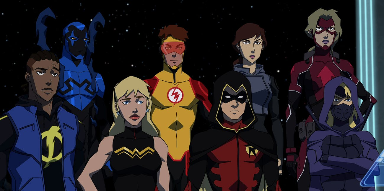 Young Justice DC Universe