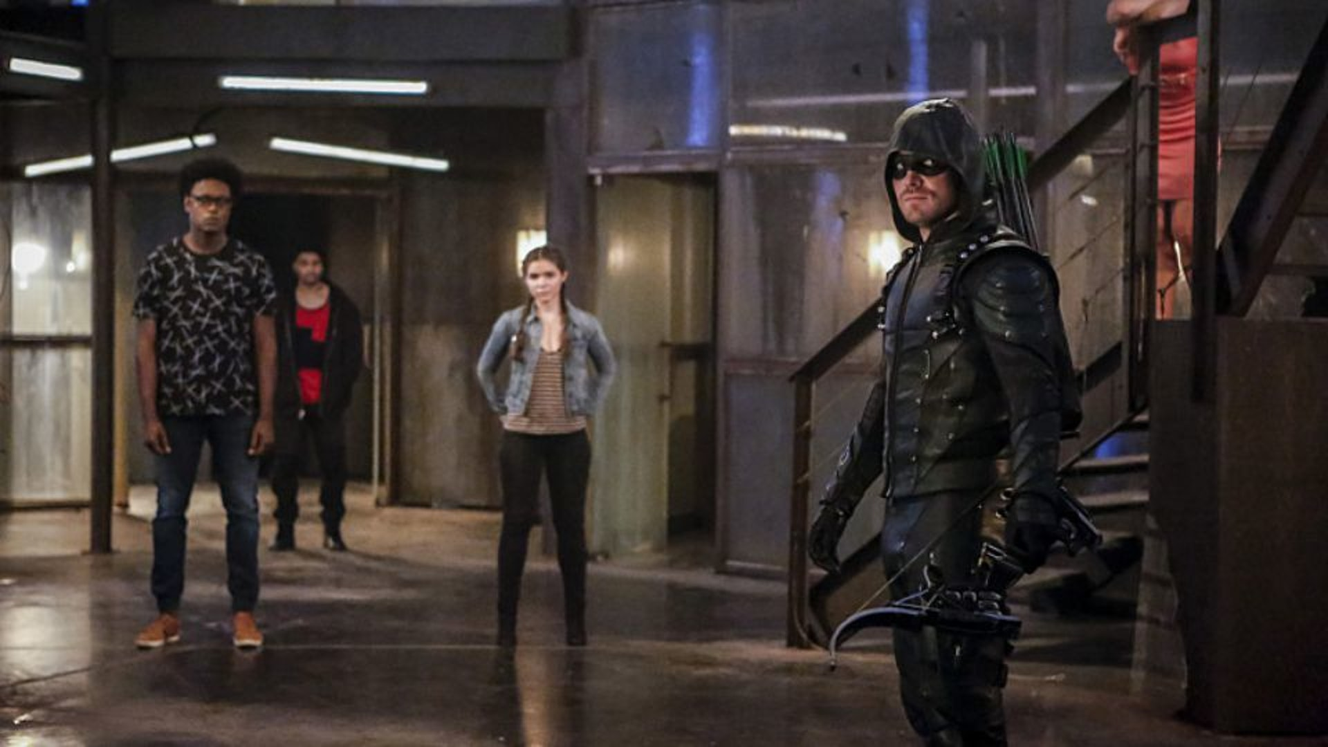 Arrow and his merry band of misfits.