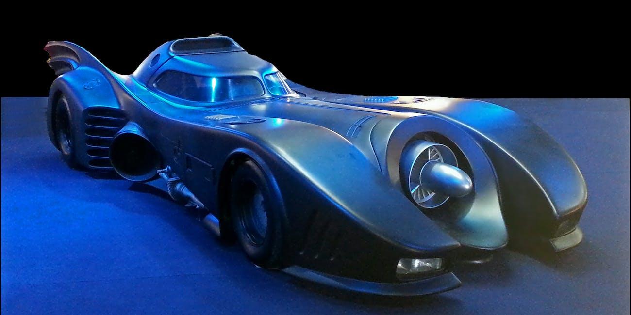 Tim Burton's Batmobile