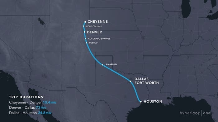 the longest of the 11 routes picked as finalists by hyperloop one this 1152 route connecting chejpegfmu003dpngu0026wu003d1200