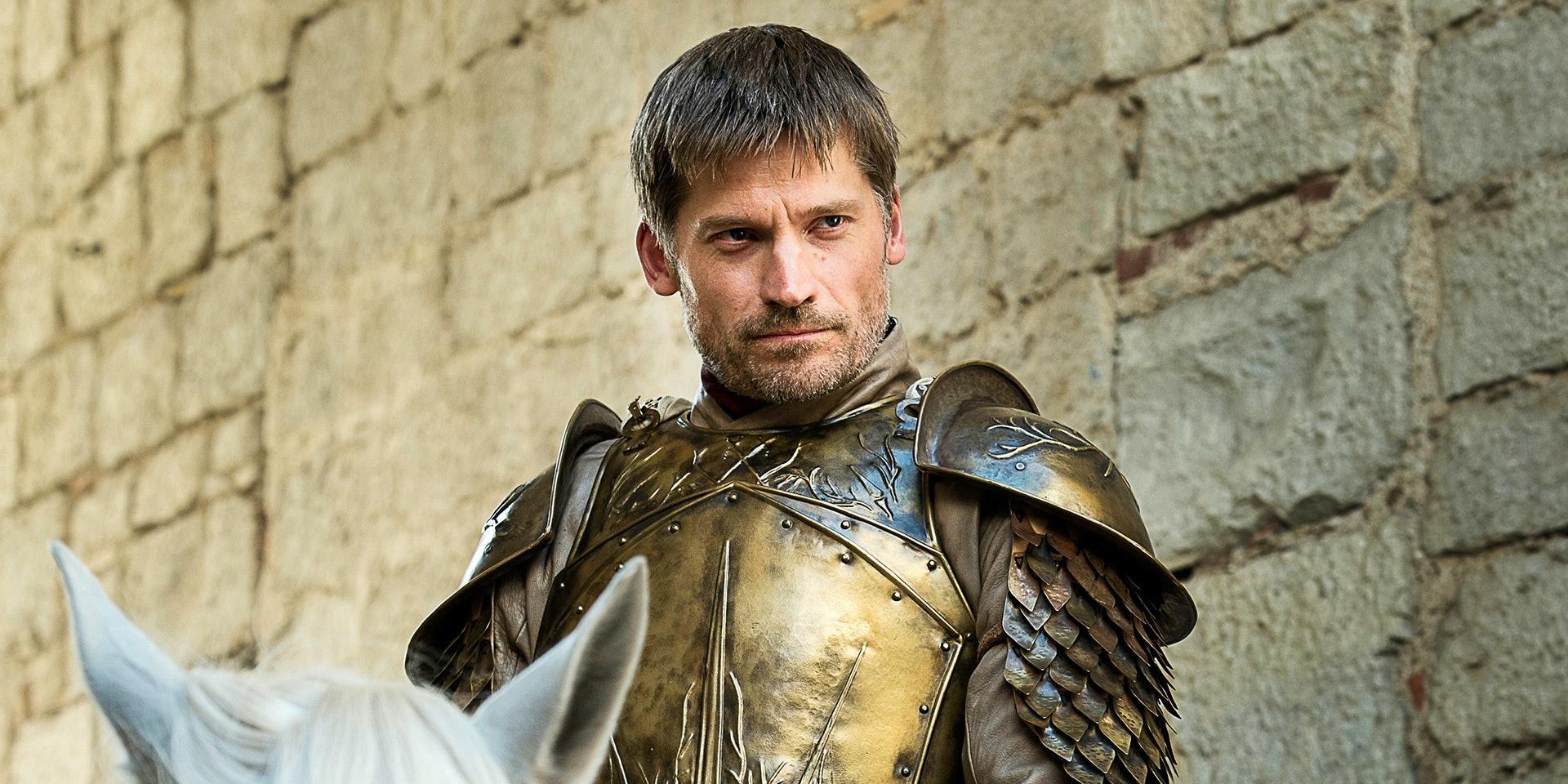 Jaime Lannister mounts up